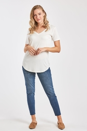 Another Love  Valentina V-Neck Tee - Front cropped