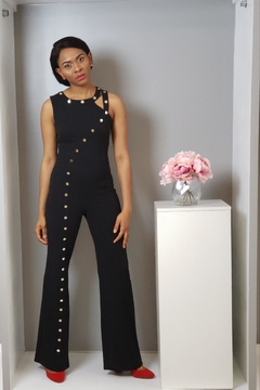 MODChic Couture Valentine Blackout Jumpsuit - Alternate List Image