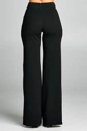Valentine Button Detail Pants - Back cropped