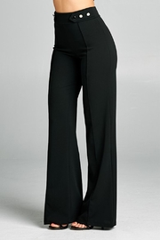 Valentine Button Detail Pants - Side cropped