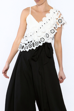 Shoptiques Product: Crochet Overlay Top