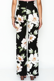 Valentine Floral Pants - Back cropped