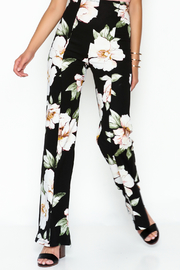 Valentine Floral Pants - Front cropped