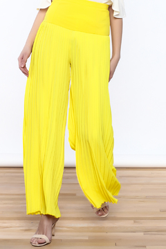 Shoptiques Product: Yellow Pleated Pants