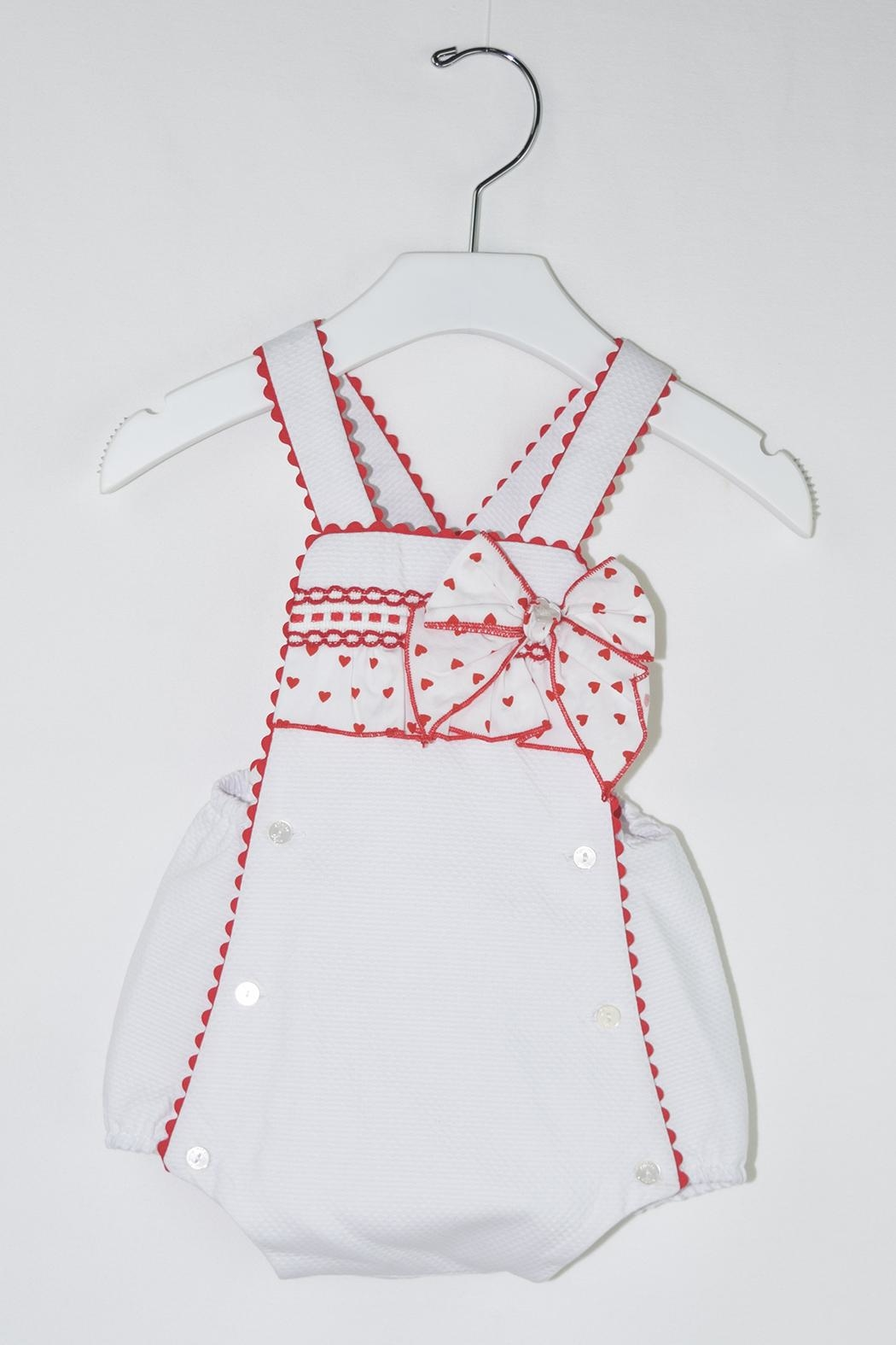 Dolce Petit Valentine's Day Romper - Main Image