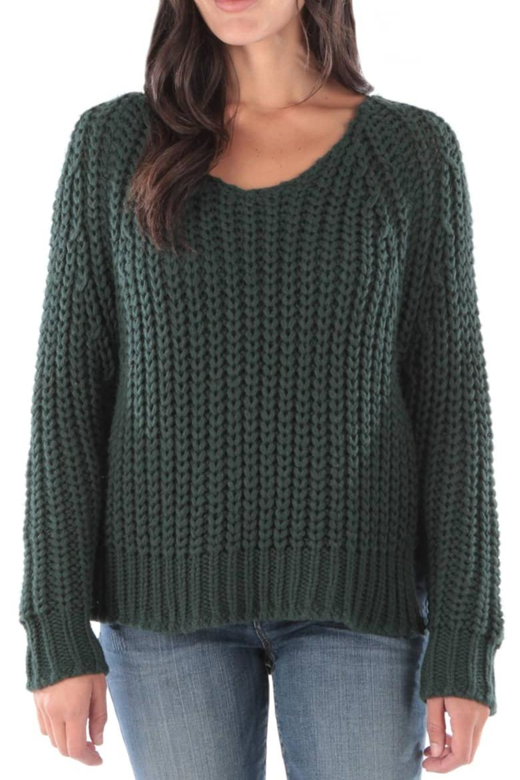 Kut from the Kloth Valeria Chunky Sweater - Front Cropped Image