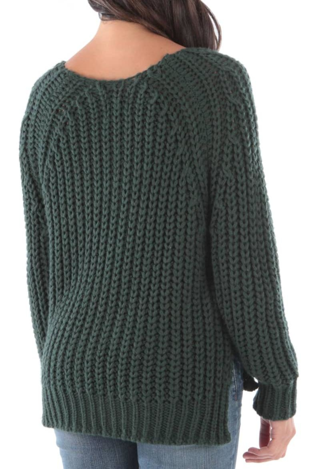 Kut from the Kloth Valeria Chunky Sweater - Front Full Image