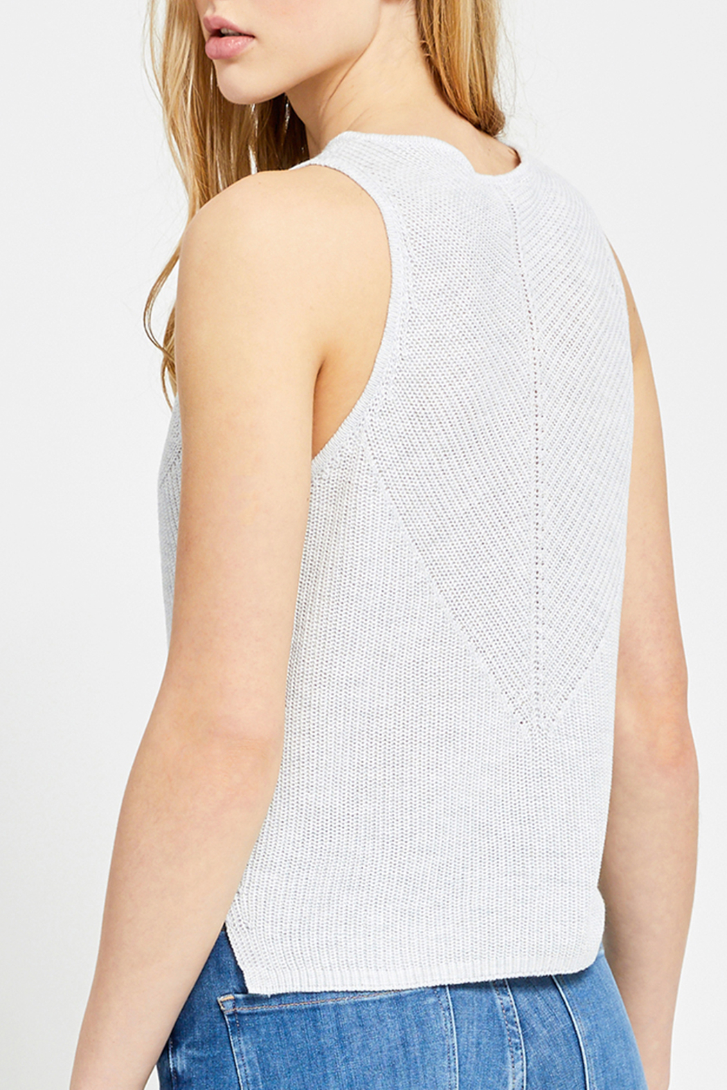 Gentle Fawn Valeria Knit Sweater Tank - Back Cropped Image
