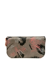Valeria Nicali Brushstrokes Suede Wallet - Front cropped