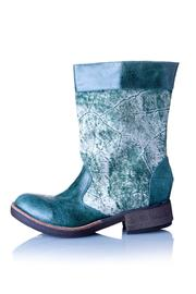 Valeria Nicali Green Wichí Boot - Product Mini Image