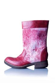 Valeria Nicali Red Wichí Boot - Product Mini Image