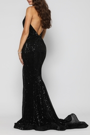 YSS the Label Valerie Gown Black - Side cropped