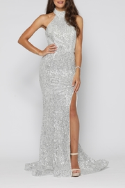 YSS the Label Valerie Gown Silver - Product Mini Image