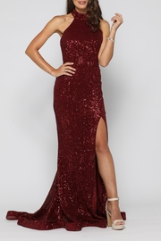 YSS the Label Valerie Gown Wine - Product Mini Image