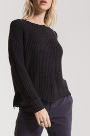 rag poets Valle Distressed Sweater - Product Mini Image
