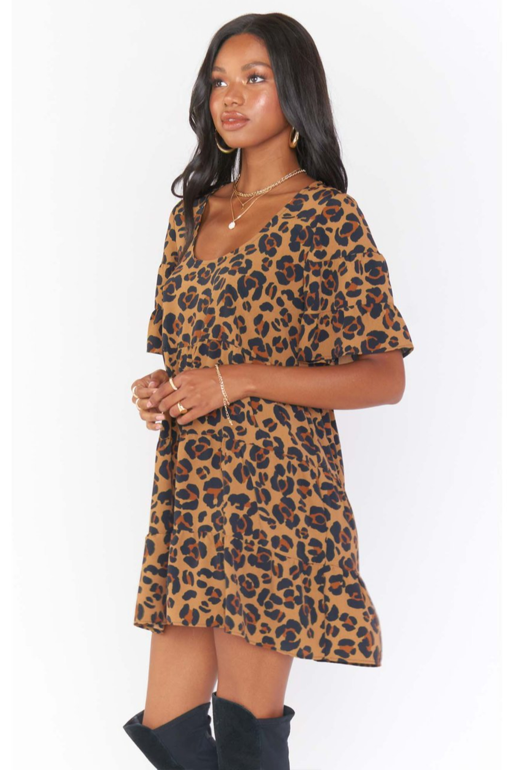 Show Me Your Mumu Valley Mini Dress - Side Cropped Image