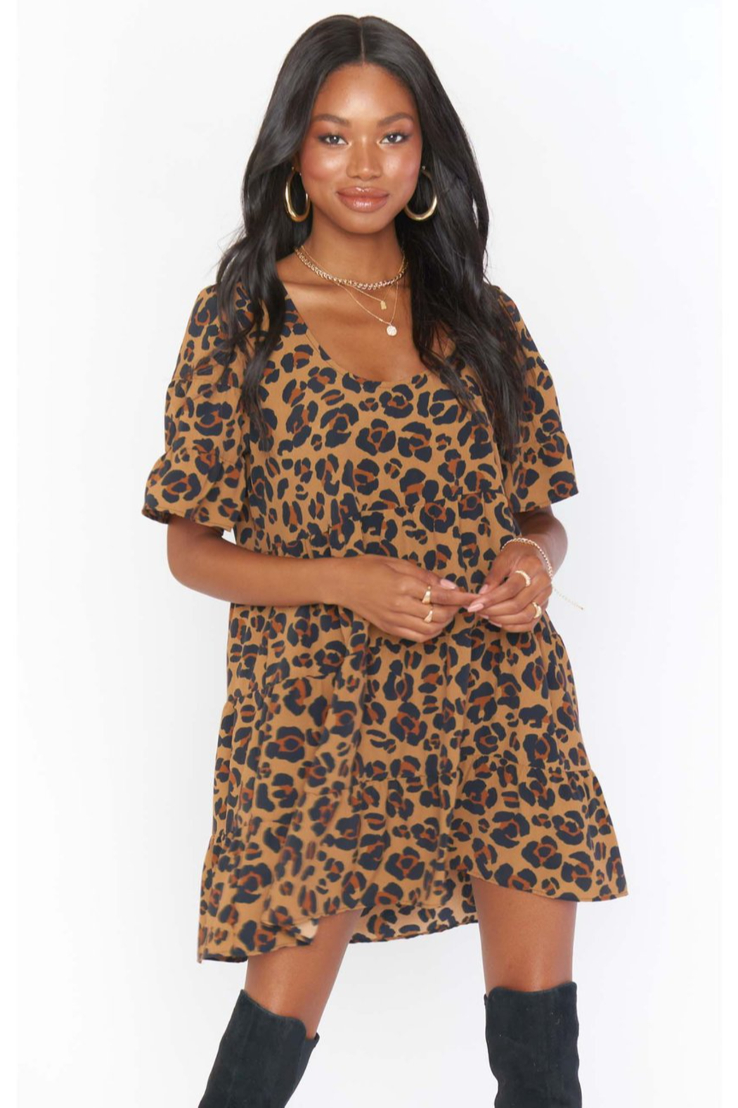 Show Me Your Mumu Valley Mini Dress - Front Full Image