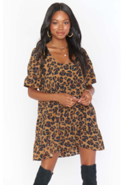 Show Me Your Mumu Valley Mini Dress - Front full body