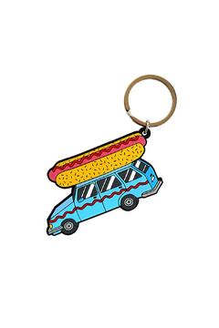 Shoptiques Product: Hot Dog Keychain