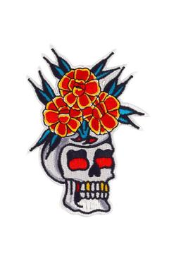 Shoptiques Product: Skull Vase Patch