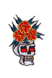 Valley Cruise Press Skull Vase Patch - Product Mini Image