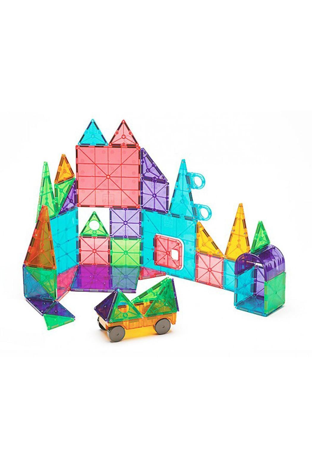 Valtech - MagnaTiles Clear Colors 48 Piece - Front Full Image