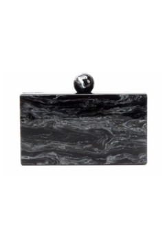 Shoptiques Product: VALYN MARBLE KNOB EVENING CLUTCH