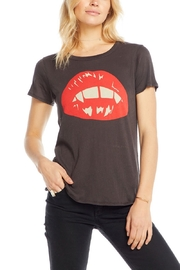 Chaser Vampire Lips Tee - Front cropped