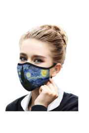 DiJore Van Gogh Over the Rhone Face Mask - Product Mini Image