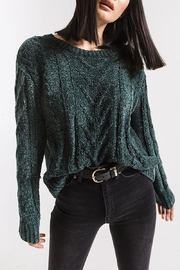 rag poets VanBrunt Cable Sweater - Side cropped