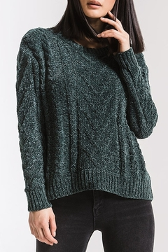 rag poets VanBrunt Cable Sweater - Product List Image