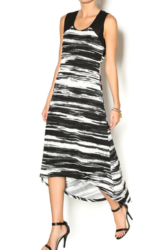 Vandana Black Hi-Low Dress - Product List Image