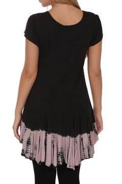 Vandana Black Ruffle Top - Alternate List Image