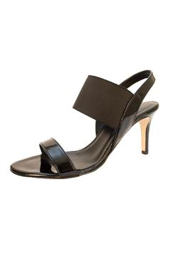 Vaneli Black Patent Sandal - Alternate List Image