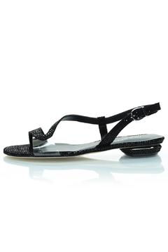 Shoptiques Product: Black Shimmery Sandal