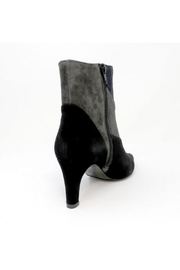 Vaneli Black Suede Bootie - Front full body