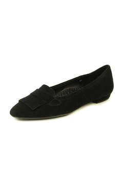Shoptiques Product: Black Suede Flat