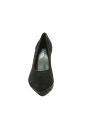 Vaneli Black Tortoise Heel - Front full body