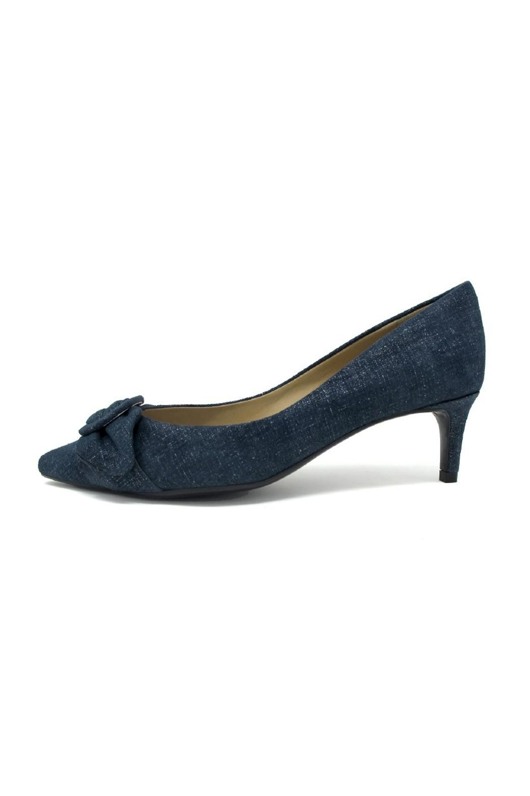Vaneli Blue Denim Heel - Main Image