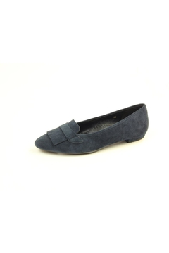 Shoptiques Product: Navy Suede Flat