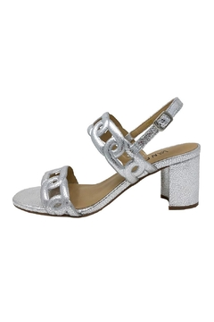 Shoptiques Product: Silver Chain Heel