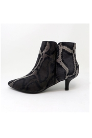 Vaneli Snake Print Bootie - Front cropped