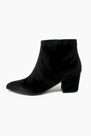 Vaneli Velvet Textured Booties - Product Mini Image