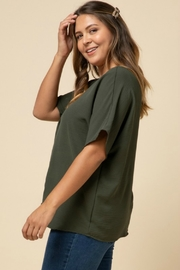 Entro VANESSA BLOUSE - Side cropped