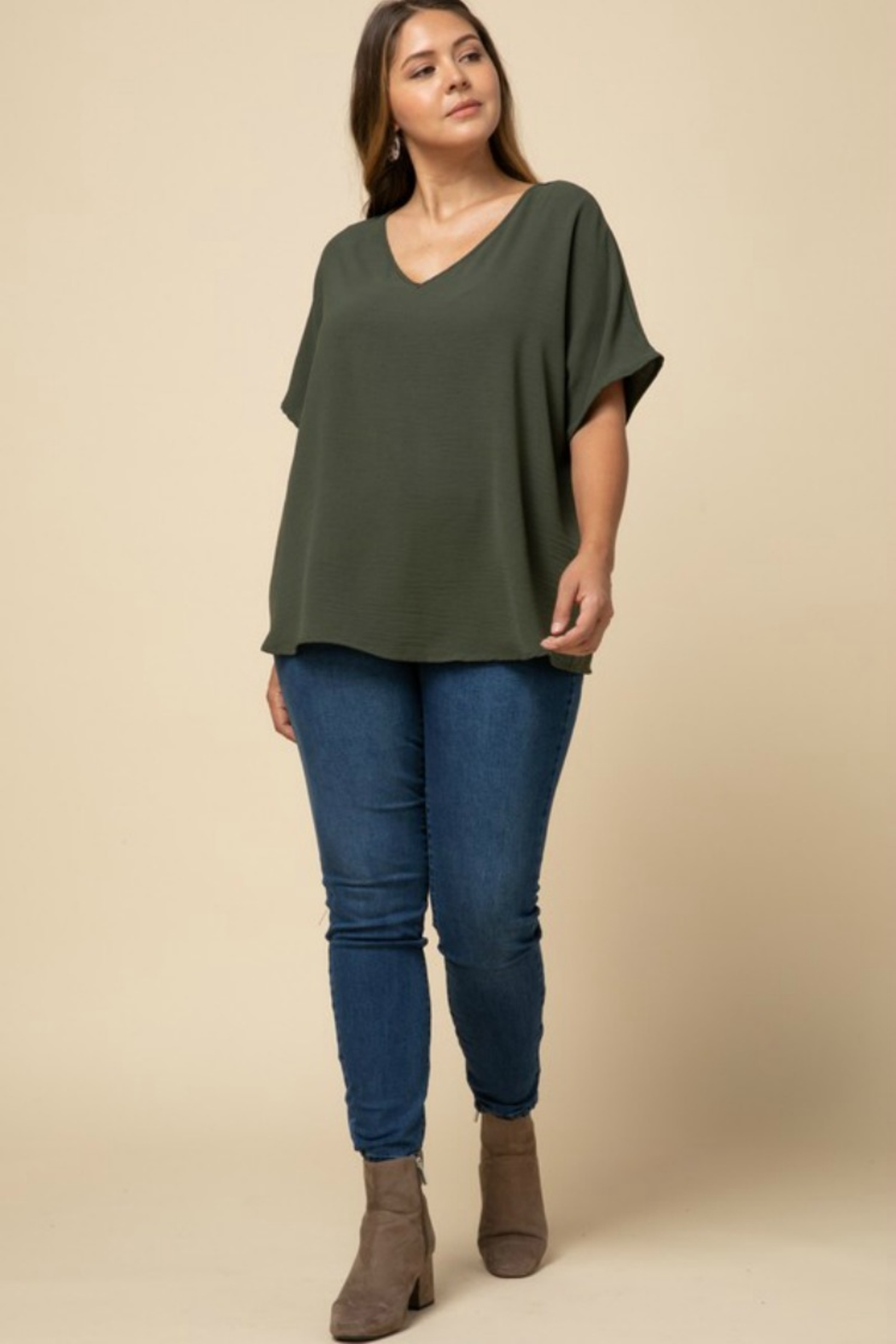 Entro VANESSA BLOUSE - Front Full Image