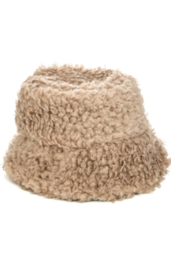 FAME ACCESORIES Vanessa Fuzzy Bucket Hat - Alternate List Image
