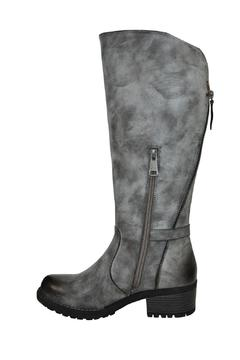 Shoptiques Product: Grey Tall Boot
