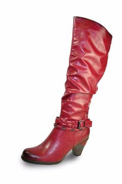 Shoptiques Product: Tall Red Boot