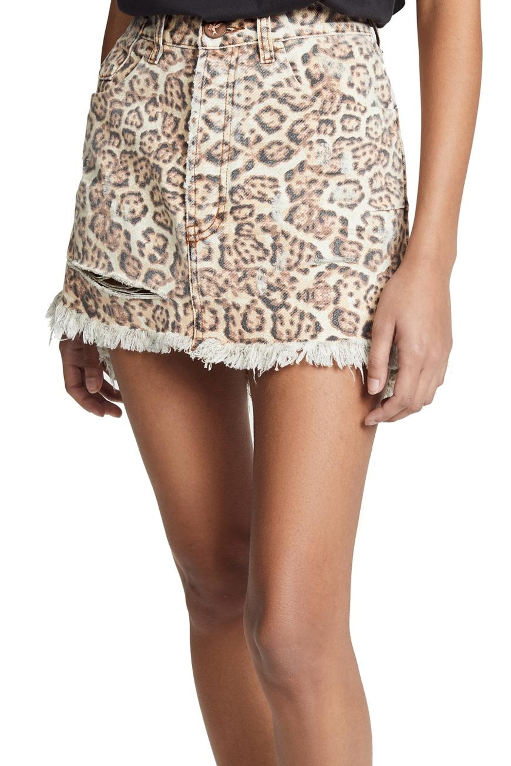 One Teaspoon Vanguard Mini Skirt - Main Image