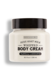 Beekman 1802 Vanilla Absolute Whipped Goat Milk Body Cream - Product Mini Image